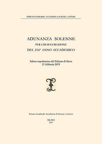 Visualizza Adunanza Solenne per l'inaugurazione del 216º Anno Accademico