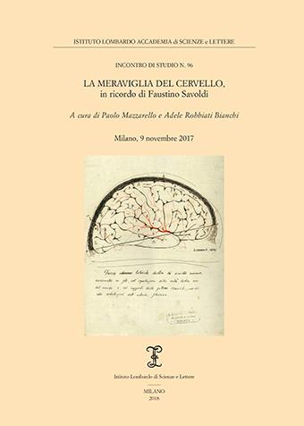 Visualizza La meraviglia del cervello, in ricordo di Faustino Savoldi