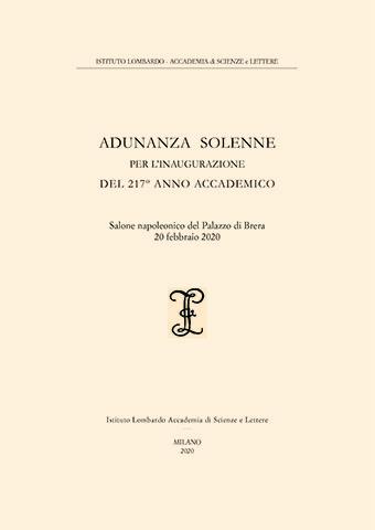 Visualizza Adunanza Solenne per l'inaugurazione del 217º Anno Accademico